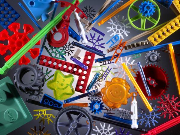 K'Nex Construction Toy Parts