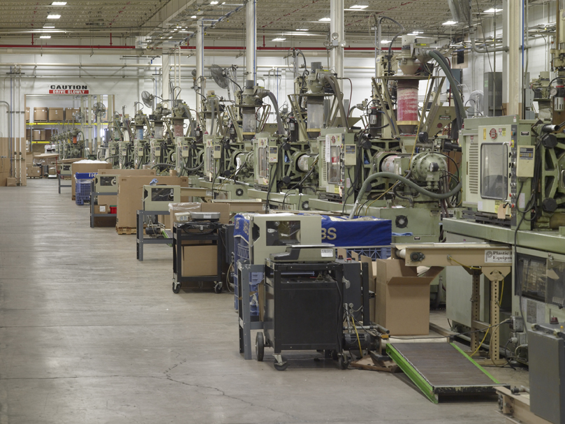 Plastic Injection Molding Facility