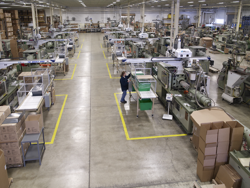 The Rodon Group Factory floor