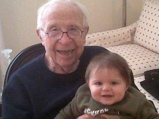 irv glickman and grandchild