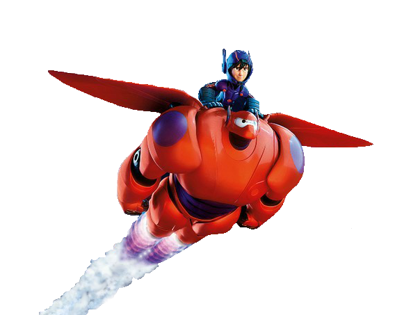 Hiro_and_Baymax_Flying_Render