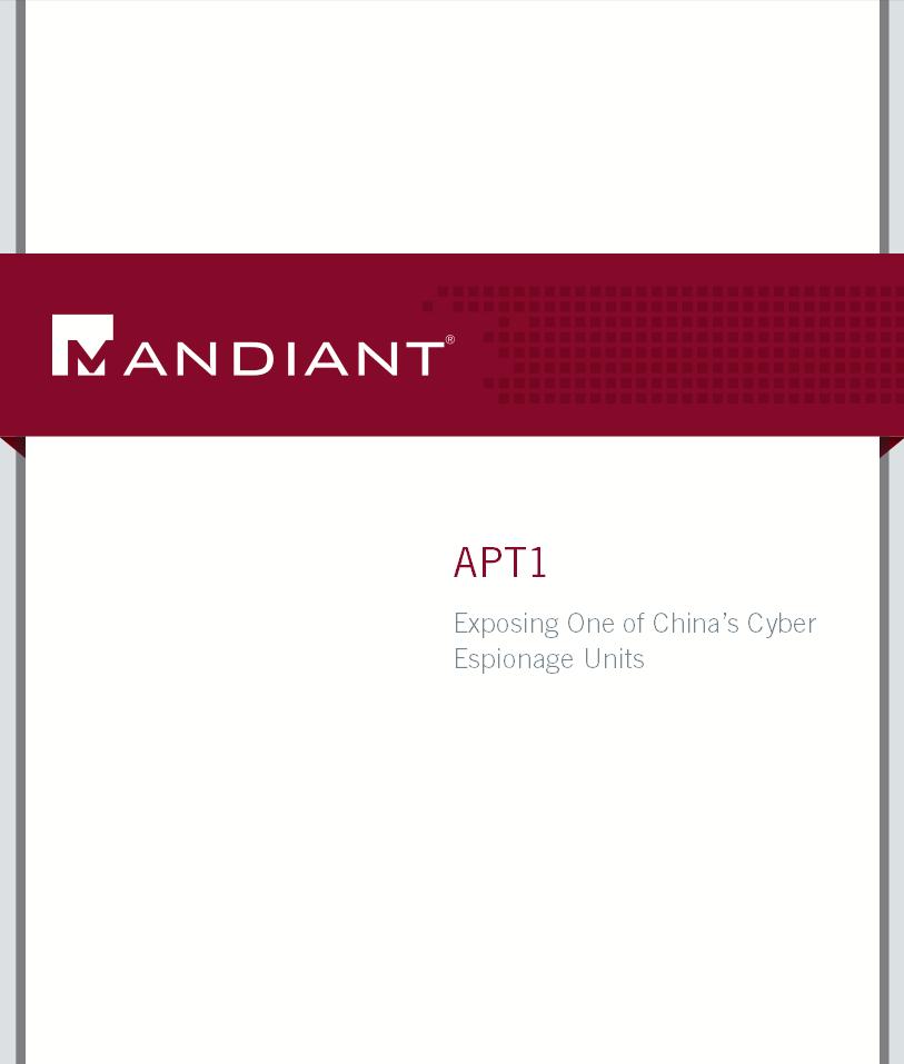 mandiant report cover