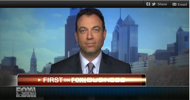 Michael Araten on Fox Business