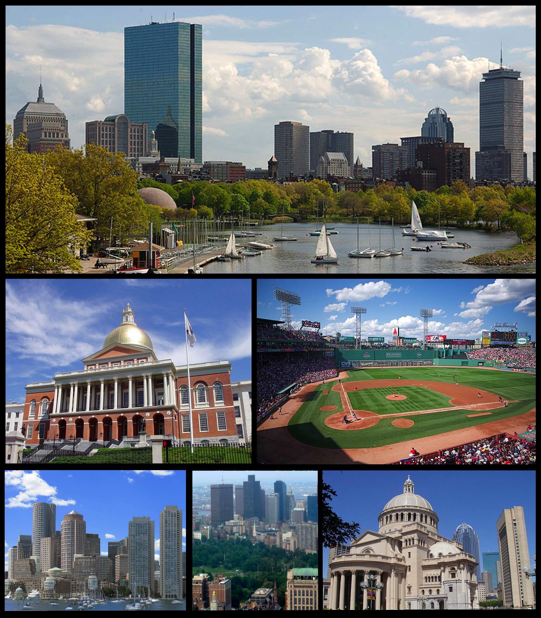 Boston Montage from Wikipedia