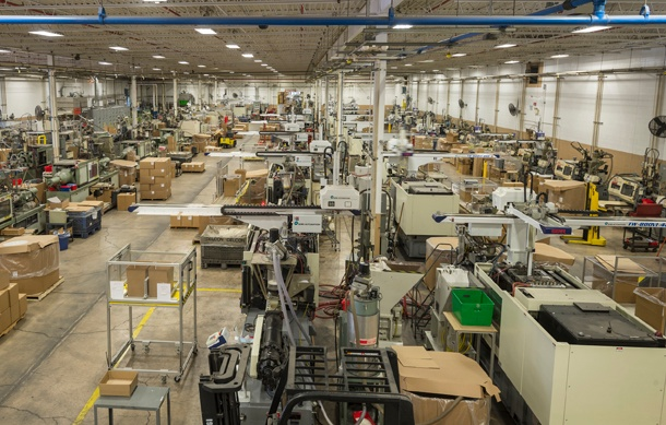 plastic injection molding at The Rodon Group